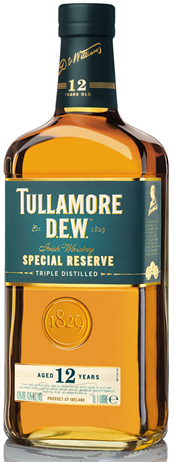 Tullamore Dew Irish Whiskey 12 Year Old